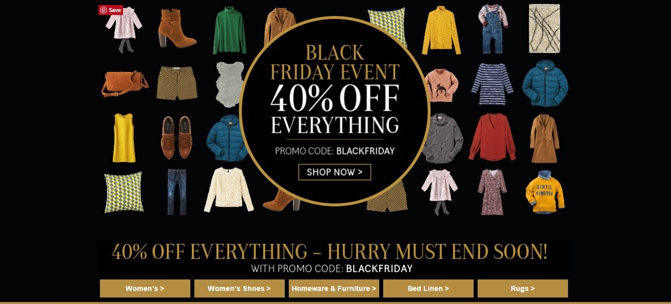 Black Friday La Redoute Edit Club Forty