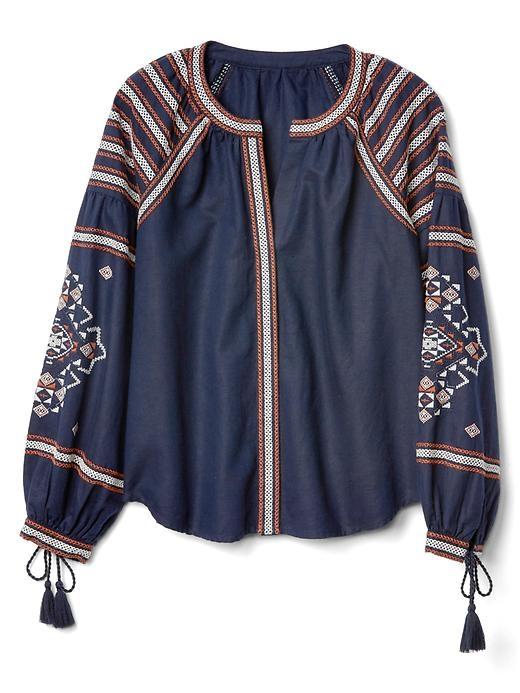Gap boho blouse