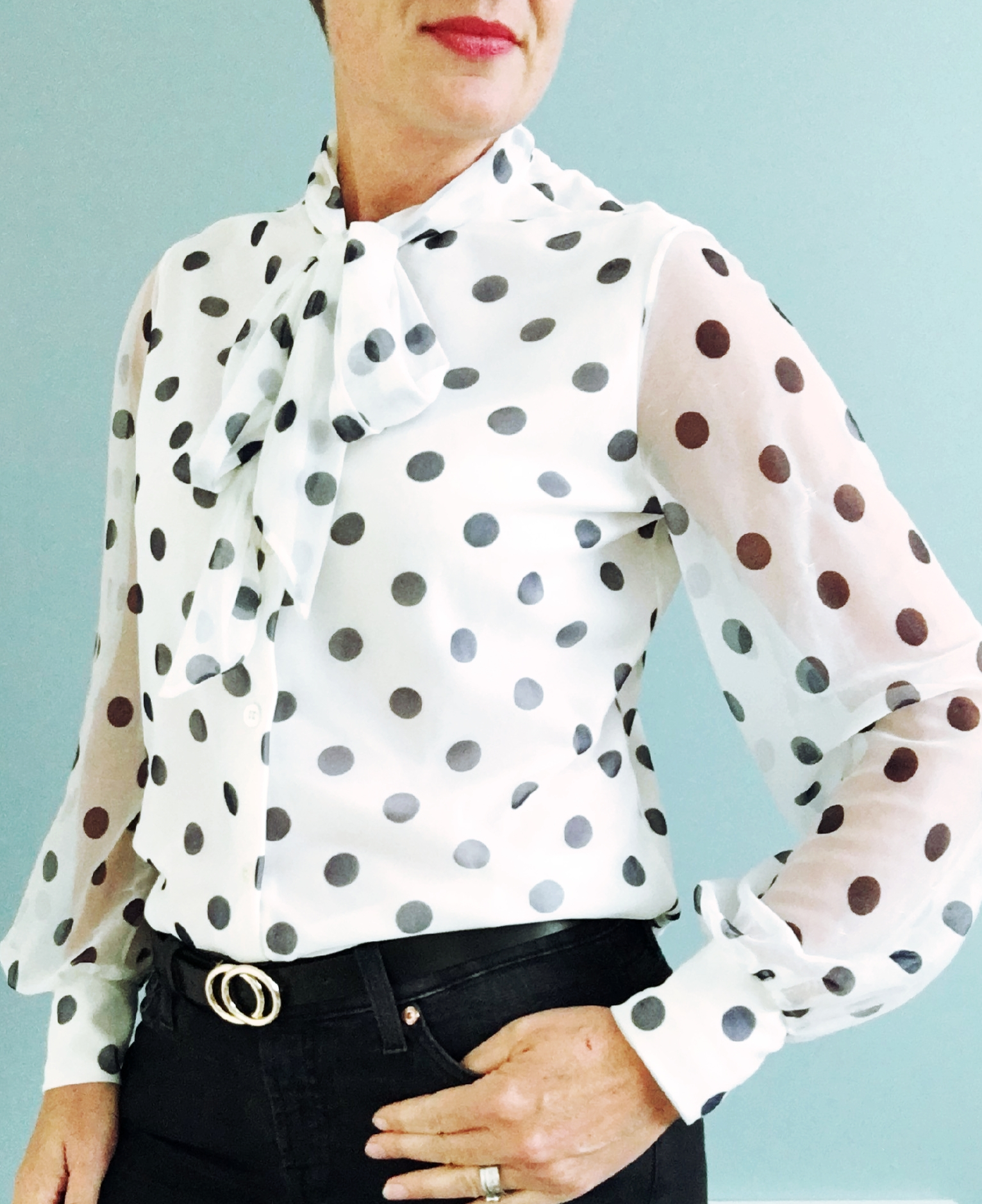Polka dots, Princess Di and Thrifty Purchases - Club Forty