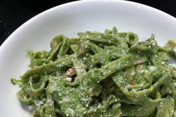 creamy spinach pasta